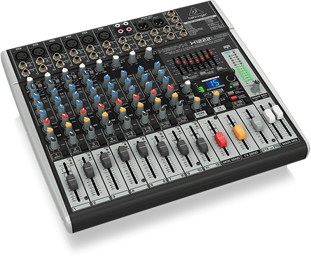 Xenyx X1222USB Mixer with USB and Effects