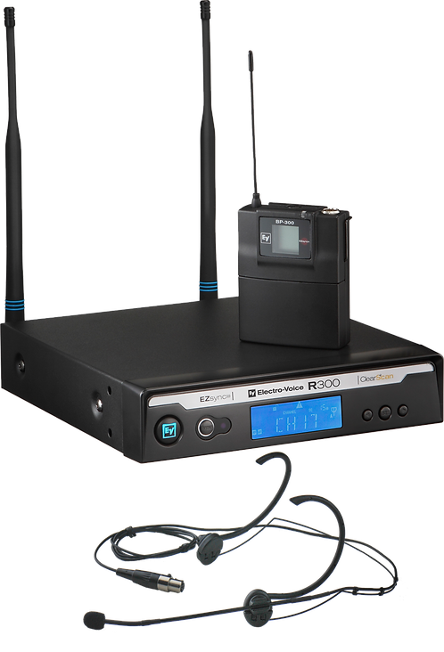R300E Headworn Wireless Microphone System