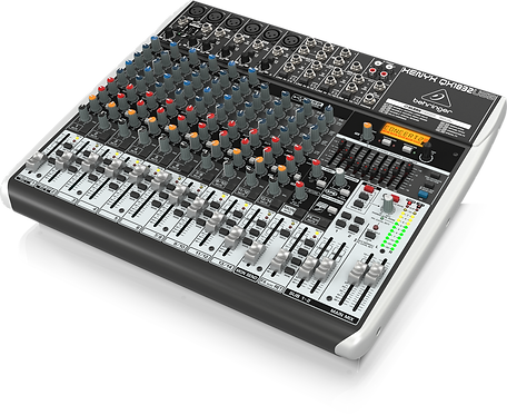 Xenyx QX1832USB Mixer with USB and Effects
