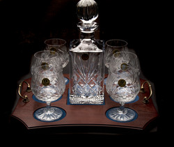 Decanter Tray Sets