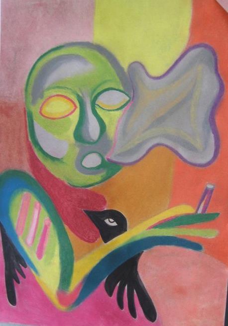 Eva como fumas