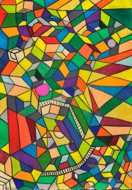 Mosaic Silk