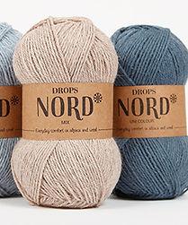 DROPS Nord Suave y durable en alpaca, lana y poliamida