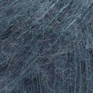 BRUSHED ALPACA SILK UNI COLOUR - 25 - azul acero / steel blue