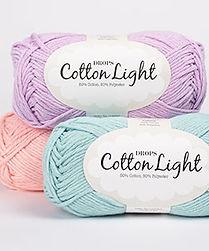 DROPS Cotton Light Un hilo fresco de algodón para el verano