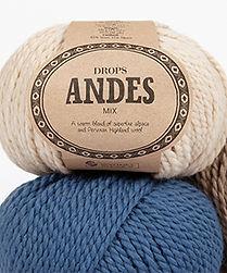 DROPS Andes Una combinación suave y gruesa de alpaca y lana