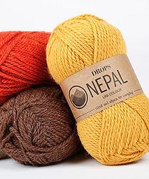 DROPS Nepal El hilo perfecto para el uso diario