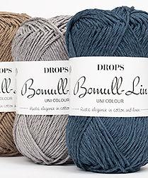 DROPS Bomull-Lin Elegancia rústica en algodón y lino