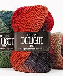 DROPS Delight Un suave y excitante hilo de lana con tratamiento superwash