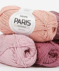 DROPS Paris Algodón divertido y fácil de tejer