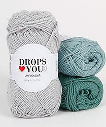 DROPS Loves You 9 Colorido y divertido en algodón reciclado