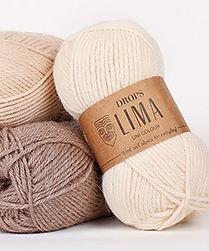 DROPS Lima Una lana perfecta para el uso diario