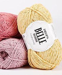 Drops Belle Fabricado de una magnífica combinación de algodón, viscosa y lino