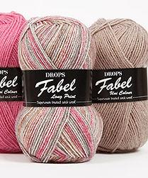 DROPS Fabel Hilo de lana para calcetines con tratamiento superwash