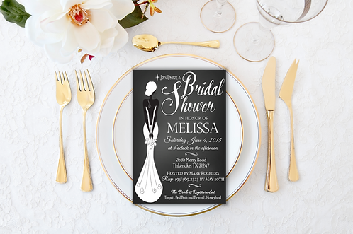 Sophisticated Lady Bridal Shower