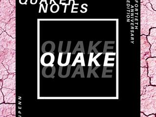 """""""QUAKE"""" Album Release"""