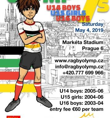 Prague International Olymp Sevens U14 + U16 May 4, 2019