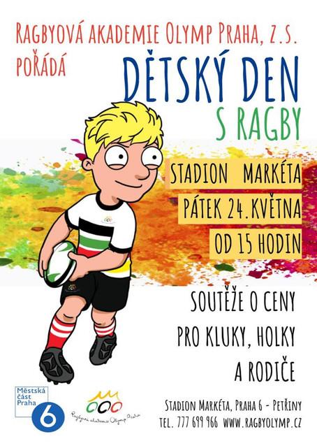 Dětský den s ragby 24.5.2019