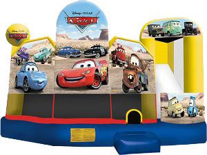 Cars 5 in 1 Combo Wet & Dry