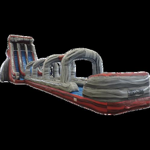 27' Lava Slide Inflatable Double Lane Slip N Slide