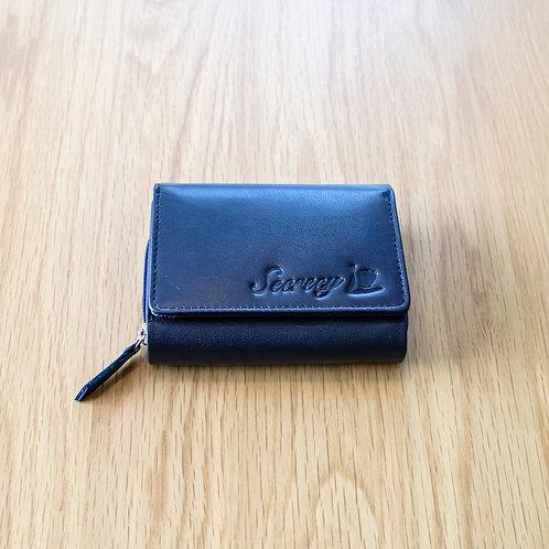 三つ折財布(ネイビー)