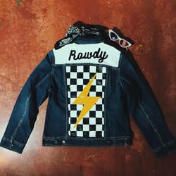 """Rowdy"" Art Jacket"