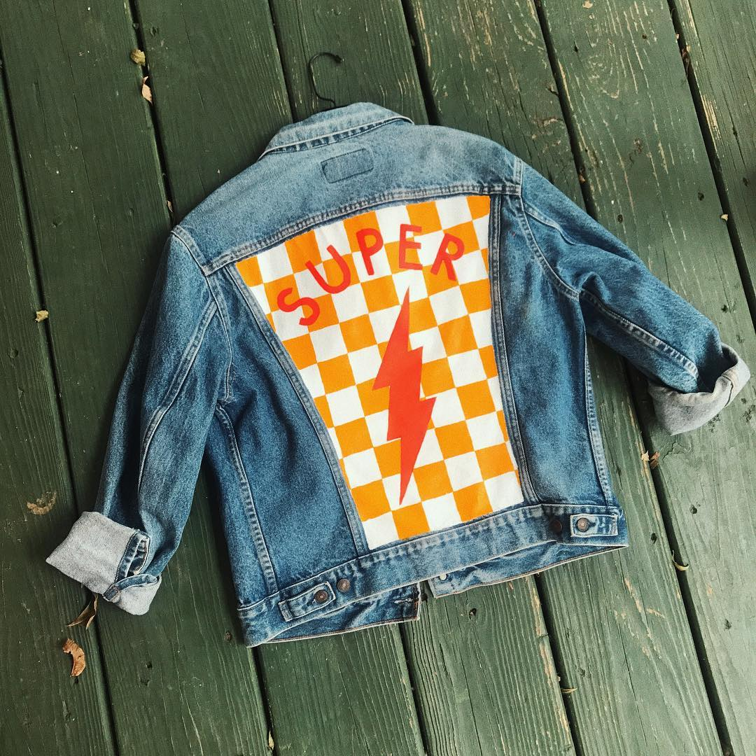 """SUPER"" Art Jacket"