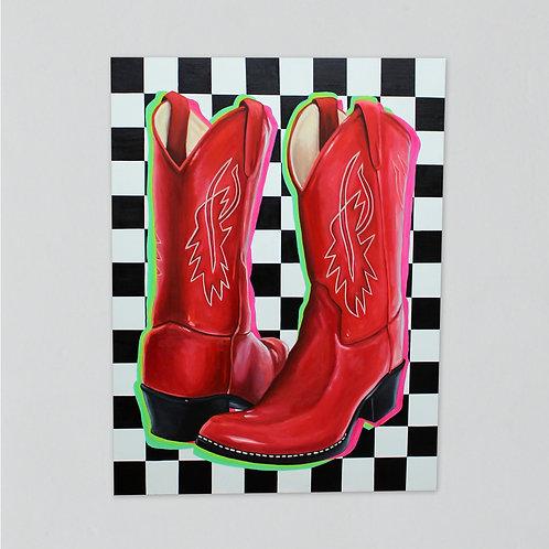 """Boots #2"" Print"