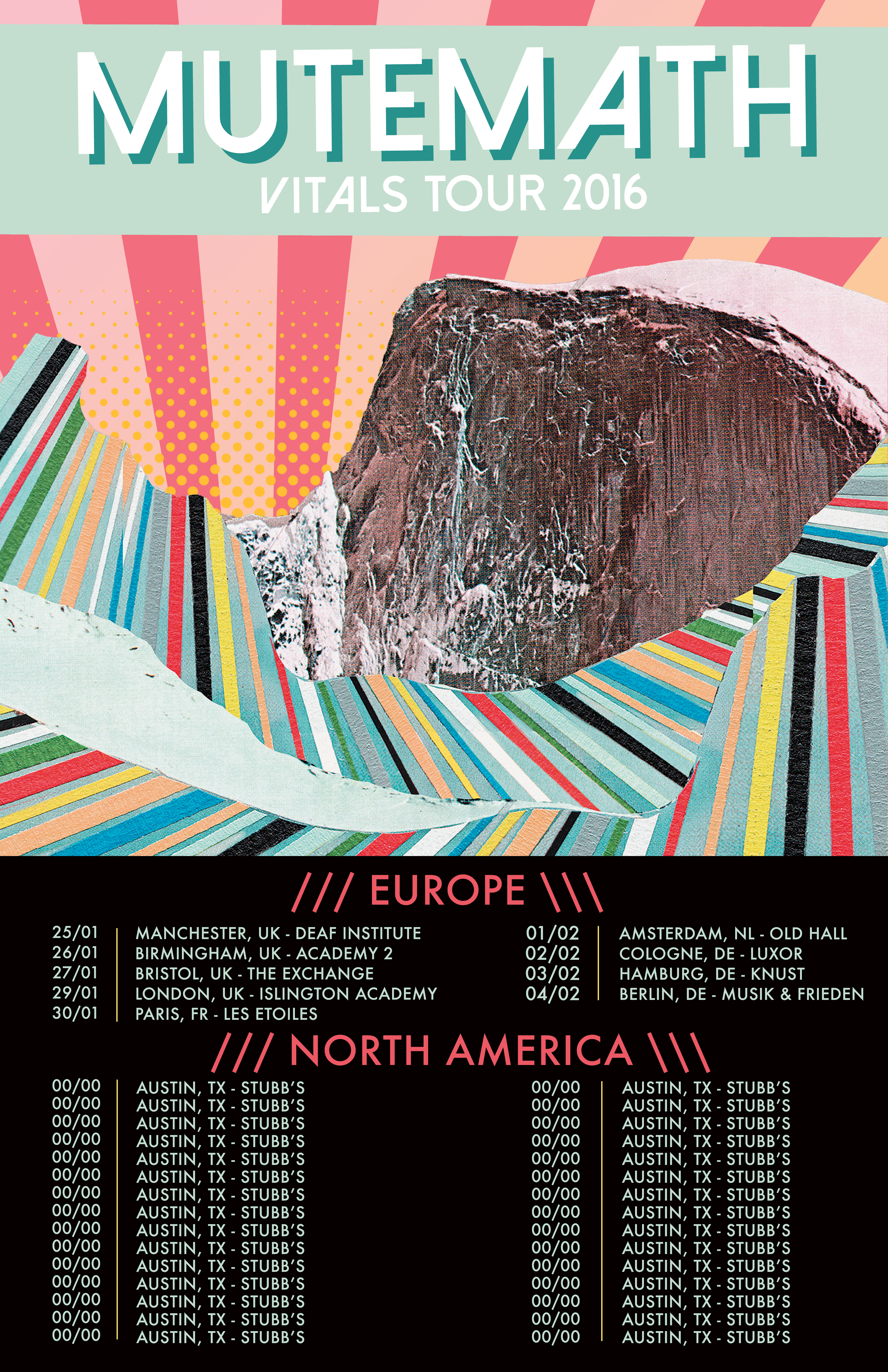 Mutemath US and European Tour