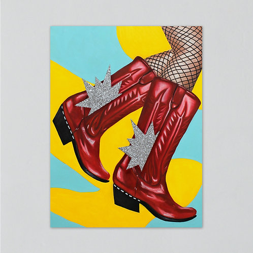 """Boots #1"" Print"