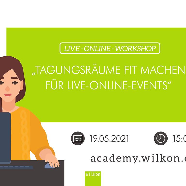 Tagungsräume fit machen für Live-Online-Events - Kostenloses Webinar