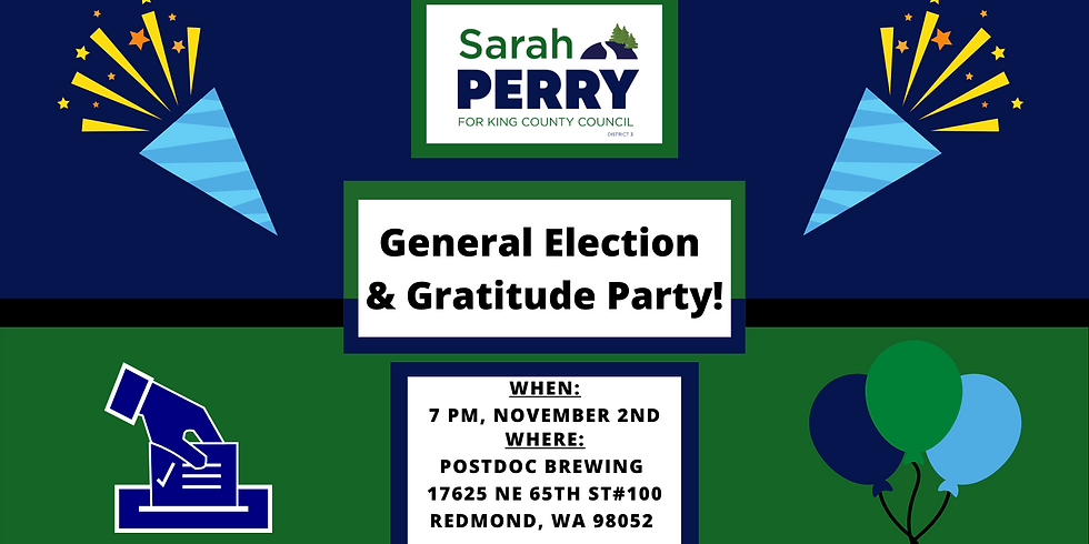 Election Night Party w/ Sarah Perry!
