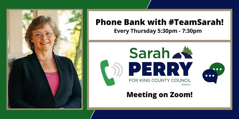 10/14 GOTV Thursday Phone Bank!