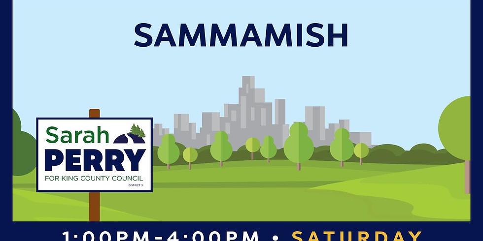 9/18 Sammamish Canvass