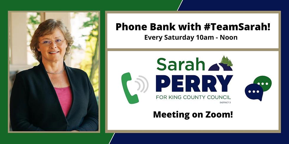 10/23 GOTV Saturday Phone Bank!