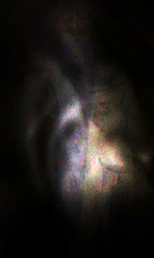 Apparition of a lady