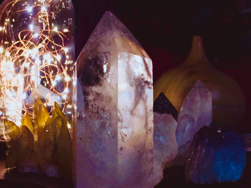 Cleansing, Charging & Programming Crystals