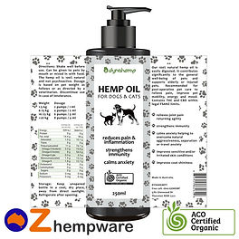 Hemp Oil for Dogs and Cats
