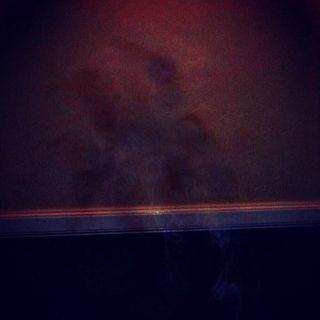 child apparition walking down the hallway
