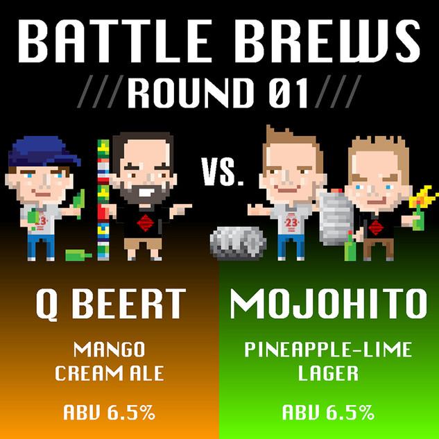 Battle Brews /// Round 01