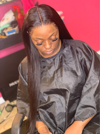 Silky Straight Collection full lace wig