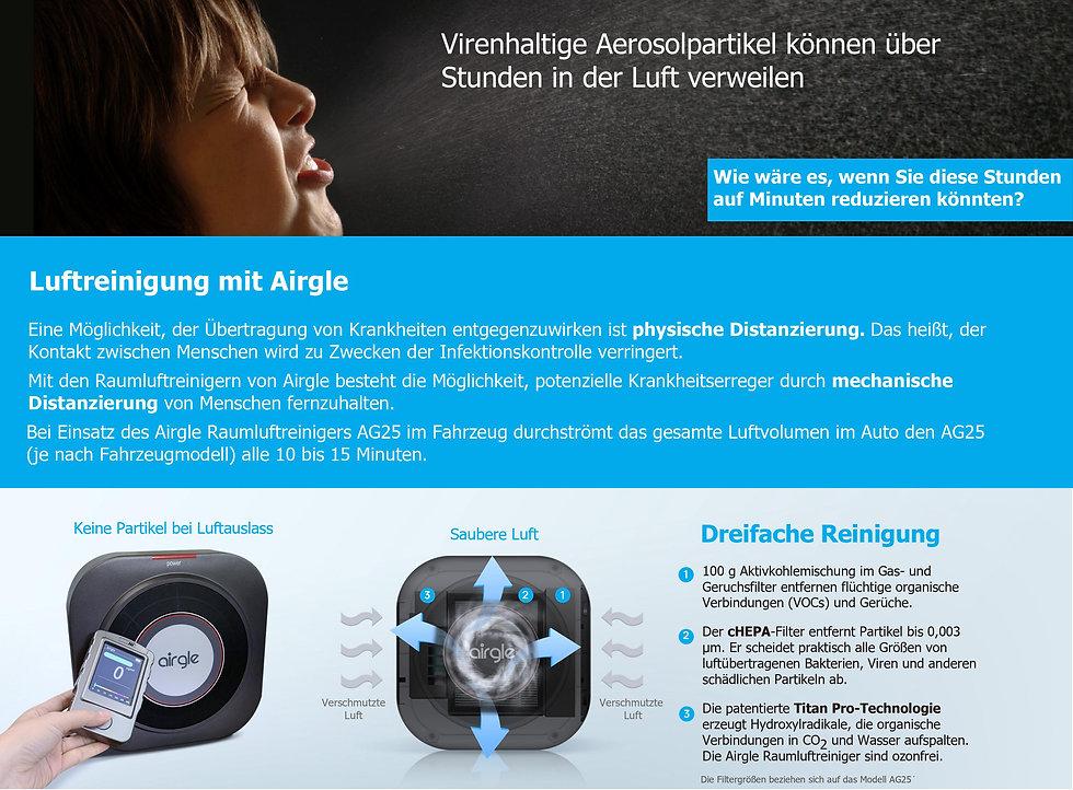 Luftreinigung mit Airgle