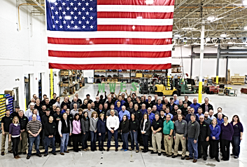 Midwest Engineered Systems factory automation project techs and manufactuing system engineers