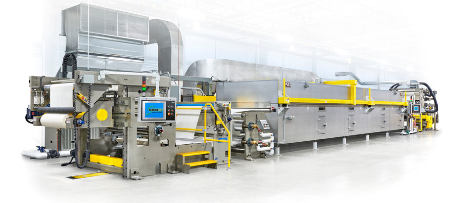 MWES Doubles Customer Productivity with New Web Handling Equipment