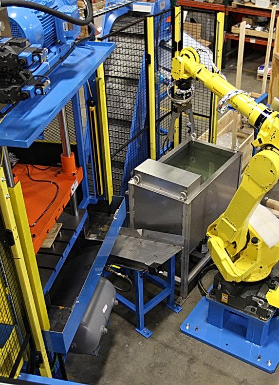 MWES FANUC Tending Automation