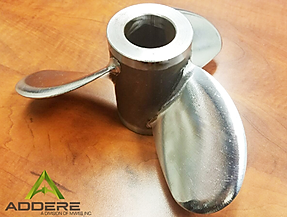 ADDere Propeller additive manufactured and finished