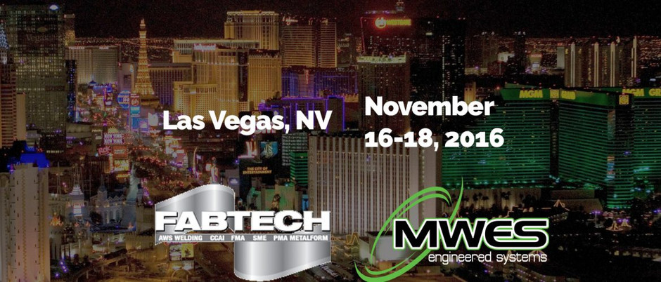 Exhibiting at FABTECH 2016