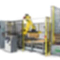 MWES Robotic Palletizing & Automated Guided Vehicle