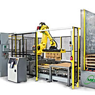 MWES Robotic Palletizing & Automated Guided Vehicle