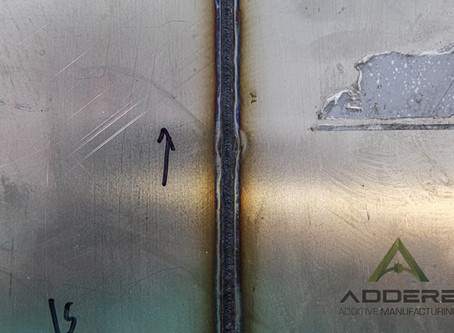 Did you know ADDere does laser welding too?